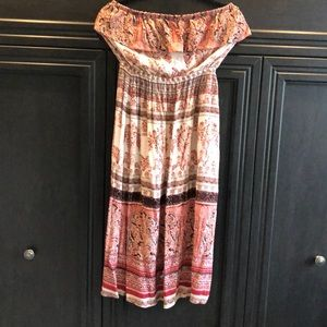 American Rag strapless sun dress